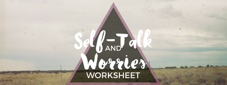 How To Stop Being So Critical Of Yourself Exercises And Worksheet. Negative Selftalk And Worries Solution Table. Worksheet. Negative Self Talk Worksheet At Mspartners.co